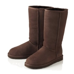 what colors go with chocolate brown uggs
