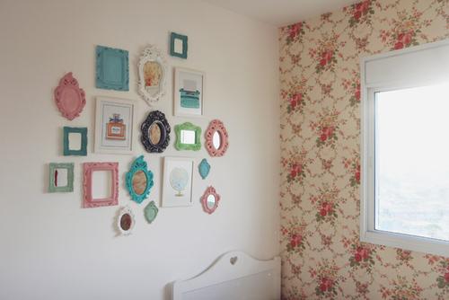Quarto Com Papel De Parede Vintage ~ papel de parede ? outra dica bem boa para mudar completamente seu