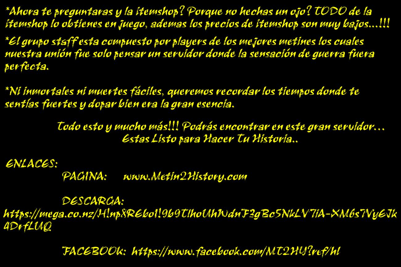 Metin2 history 75e695d55886f001a0f866cfcafa645e