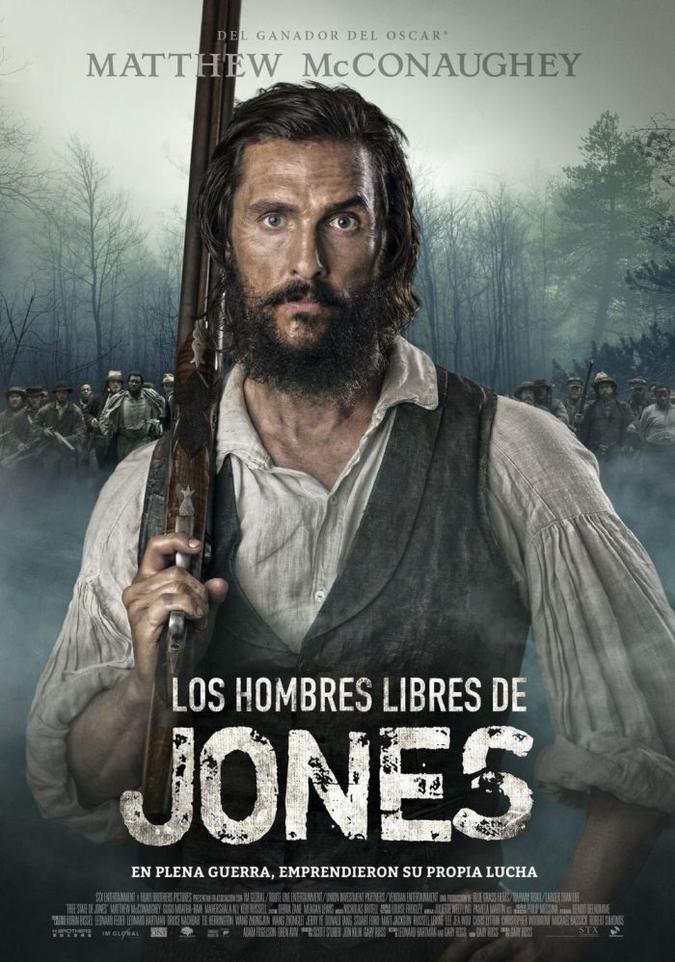 Los hombres libres de Jones 2016 DVDRip eMule